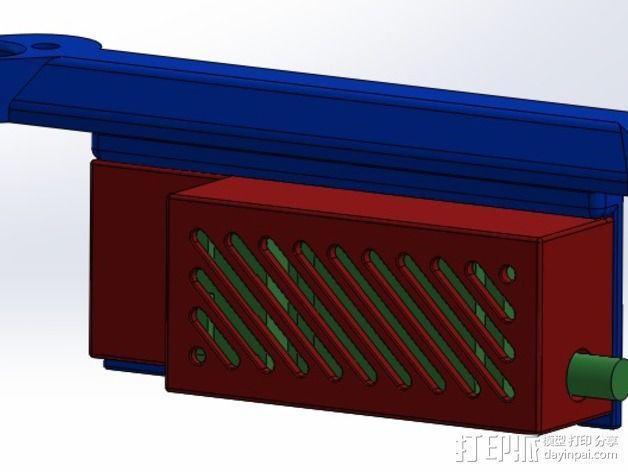 ImmersionRC发射机支架 3D模型  图13