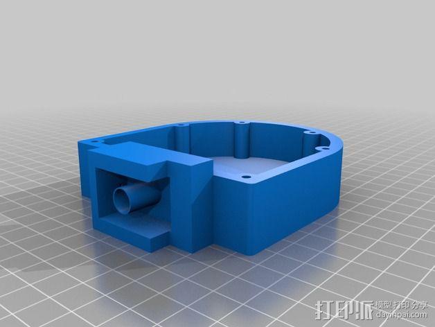 机械小鱼 3D模型  图3