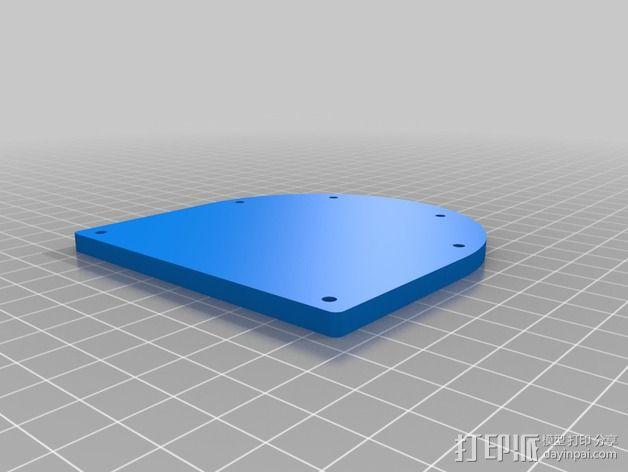 机械小鱼 3D模型  图2