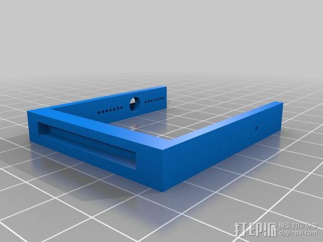 机械小鱼 3D模型  图4