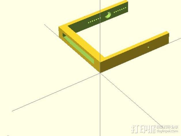 机械小鱼 3D模型  图9