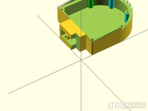 机械小鱼 3D模型  图11