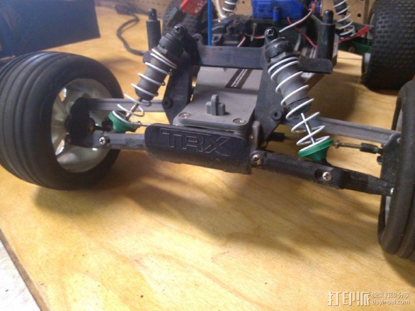 遥控车弹簧座圈 3D模型  图2