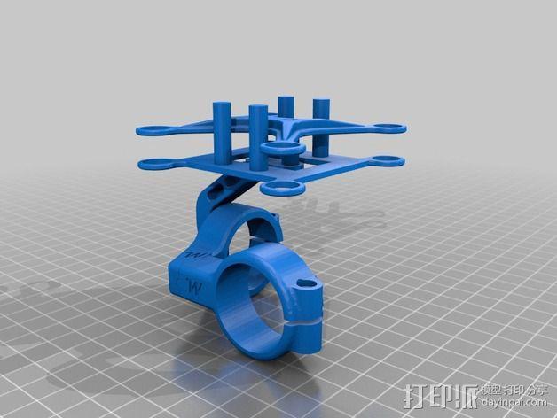 常平架底座 3D模型  图3