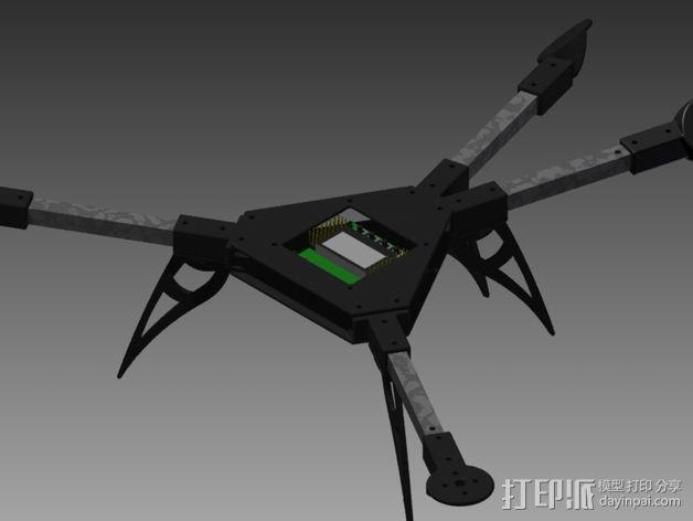 多轴飞行器零部件 3D模型  图3