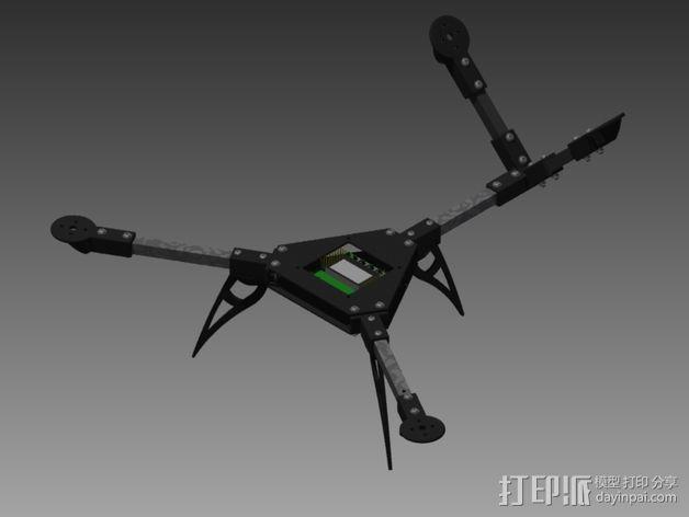 多轴飞行器零部件 3D模型  图2