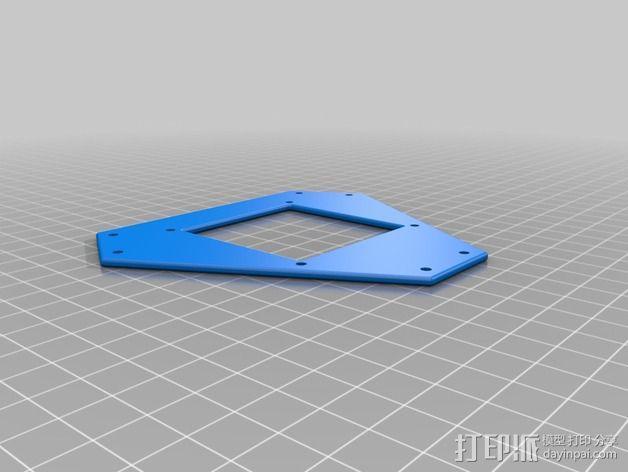多轴飞行器零部件 3D模型  图6