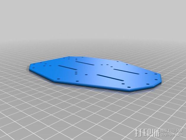 多轴飞行器零部件 3D模型  图7