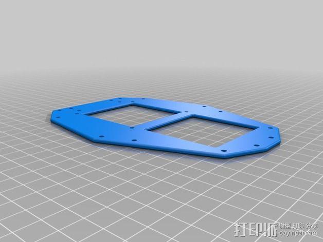 多轴飞行器零部件 3D模型  图8
