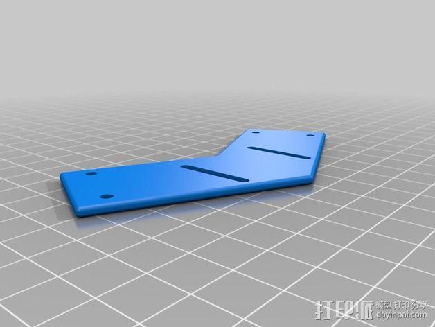 多轴飞行器零部件 3D模型  图9