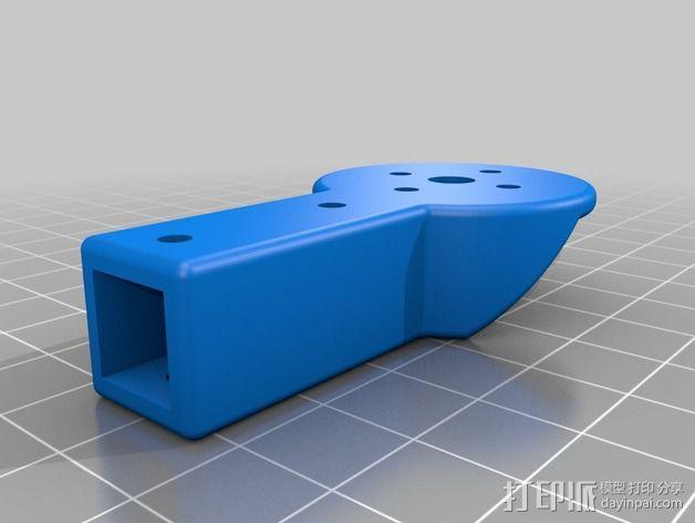 多轴飞行器零部件 3D模型  图11