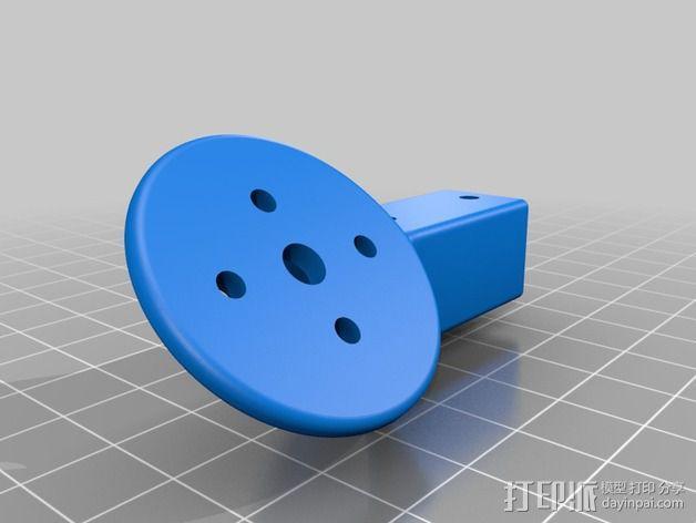 多轴飞行器零部件 3D模型  图12