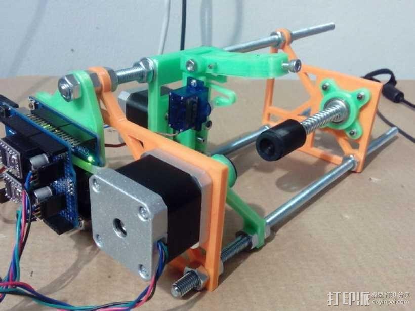 eggbot画蛋机 3D模型  图7