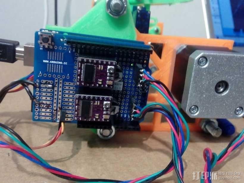 eggbot画蛋机 3D模型  图6