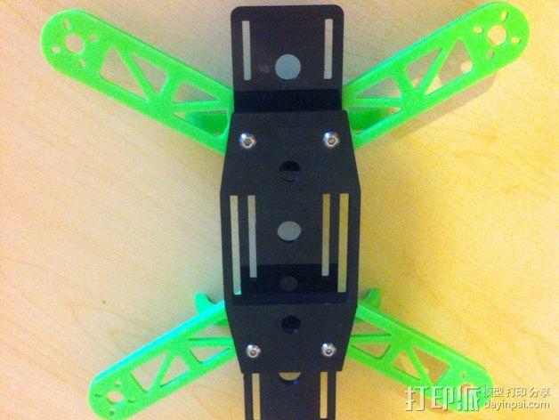 K-Quad多轴飞行器框架 3D模型  图2