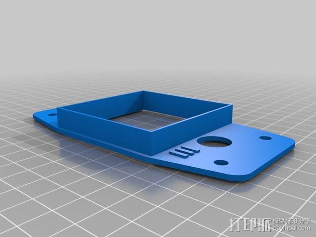 K-Quad多轴飞行器框架 3D模型  图4