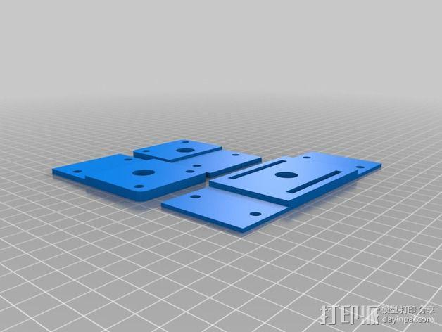 K-Quad多轴飞行器框架 3D模型  图8