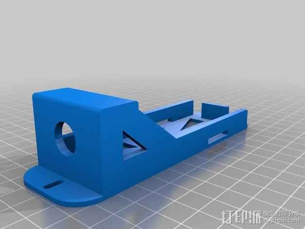 3S Lipo电池盒 3D模型  图2