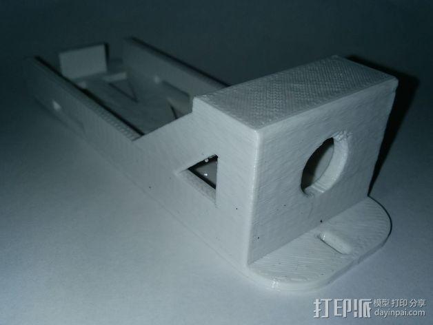 3S Lipo电池盒 3D模型  图3