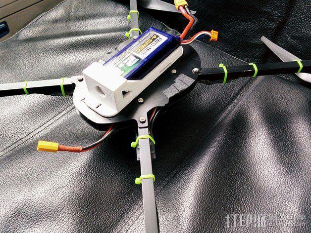 3S Lipo电池盒 3D模型  图7