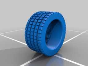 遥控赛车轮胎 3D模型