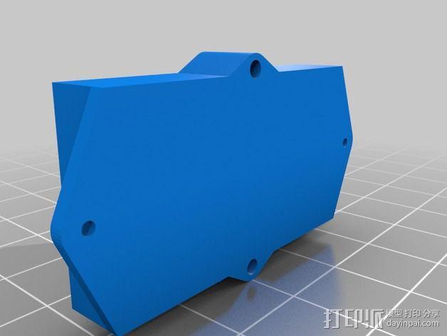 Arduino Pro Mini电路板外壳 3D模型  图4