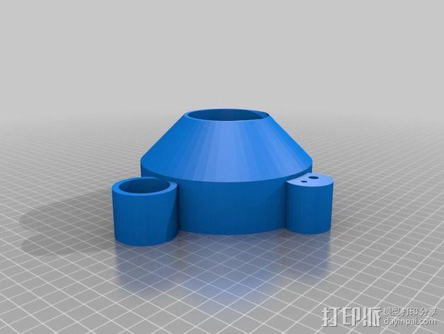 蛋白质分离器  3D模型  图2