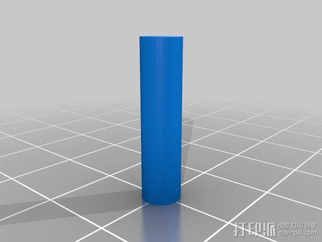 蛋白质分离器  3D模型  图5