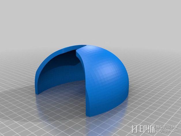 PrintBot螃蟹机器人 3D模型  图13
