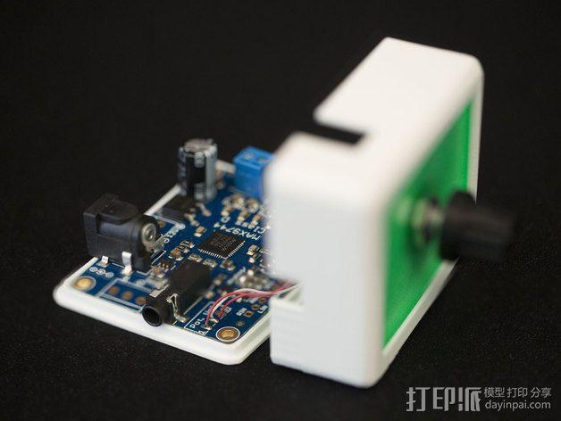 MAX9744立体声放大器外壳 3D模型  图2