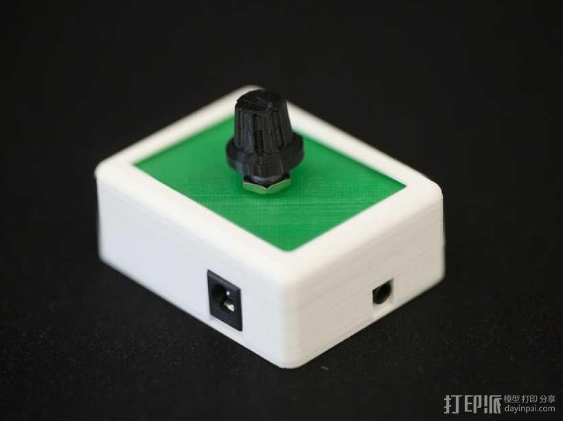 MAX9744立体声放大器外壳 3D模型  图1