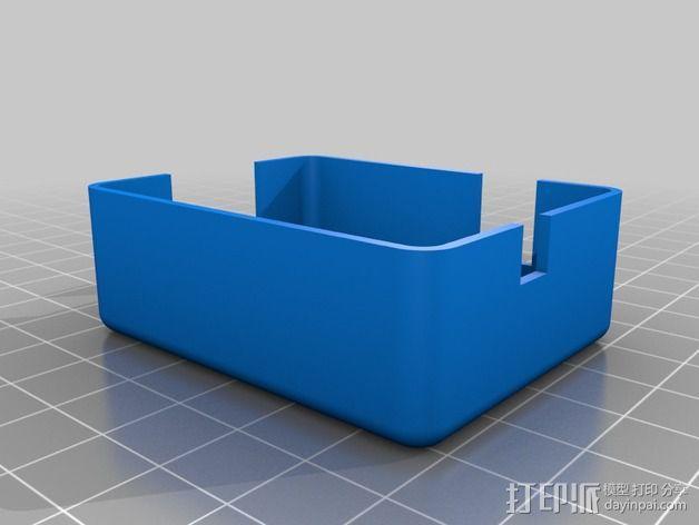 MAX9744立体声放大器外壳 3D模型  图6