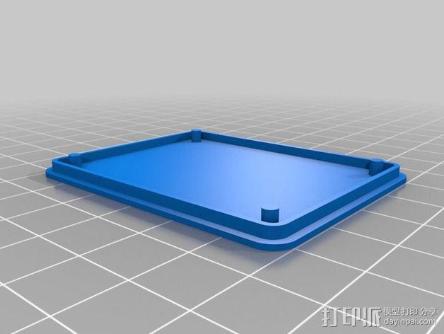 MAX9744立体声放大器外壳 3D模型  图7