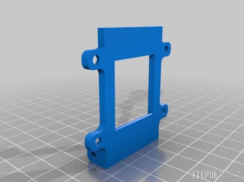 开关盖 3D模型  图2
