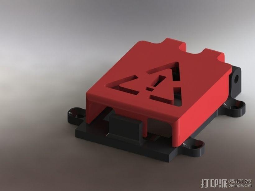 开关盖 3D模型  图5