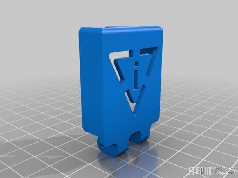 开关盖 3D模型  图3