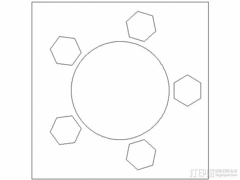 激光切割的码垛机器人 3D模型  图18