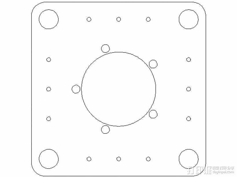 激光切割的码垛机器人 3D模型  图24