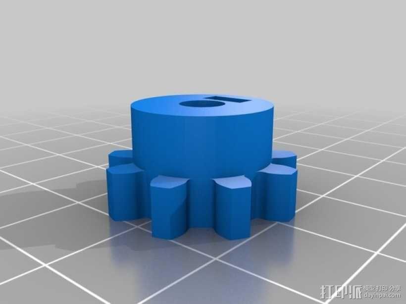 激光切割的码垛机器人 3D模型  图30