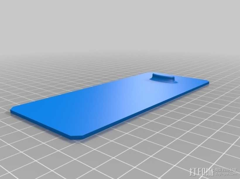 Hubsan四轴飞行器扇叶和电池盒 3D模型  图3