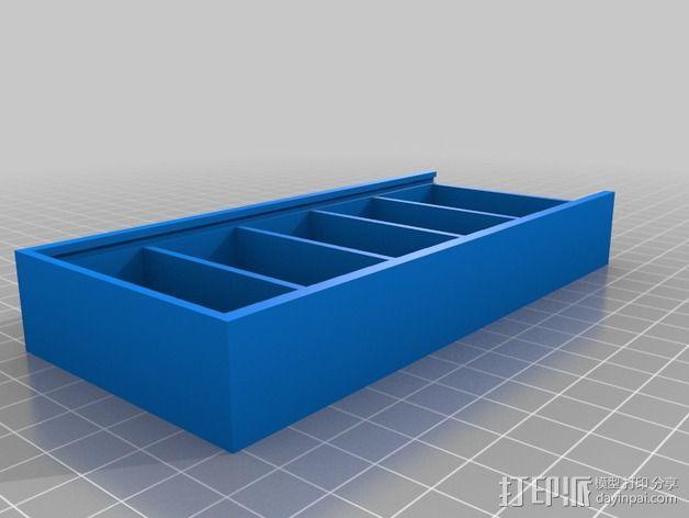 Hubsan四轴飞行器扇叶和电池盒 3D模型  图2