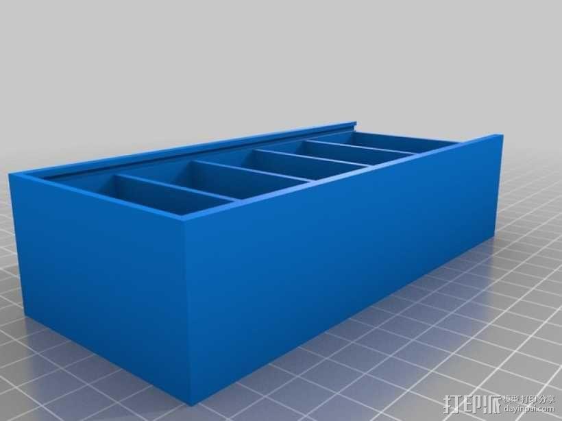 Hubsan四轴飞行器扇叶和电池盒 3D模型  图4