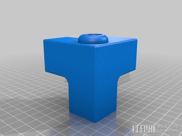 Replicator 2 3D打印机框架零部件 3D模型  图2