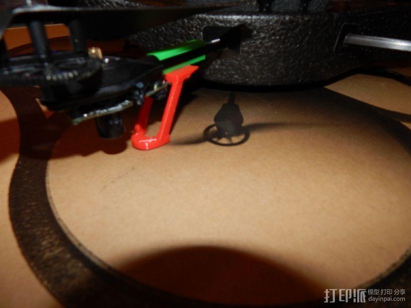 无人机起落架 3D模型  图1