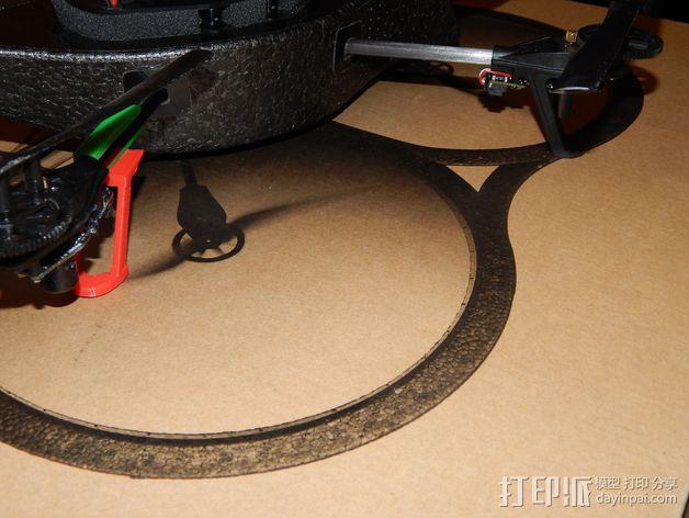 无人机起落架 3D模型  图4