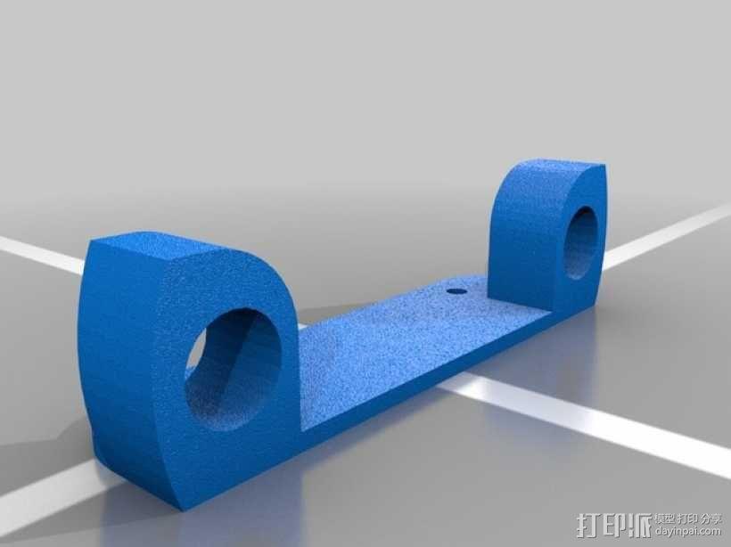 Tarot常平架配适器 3D模型  图1