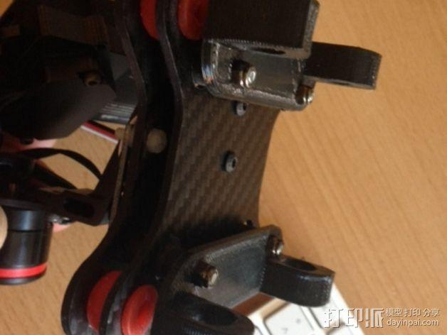 Tarot常平架配适器 3D模型  图2