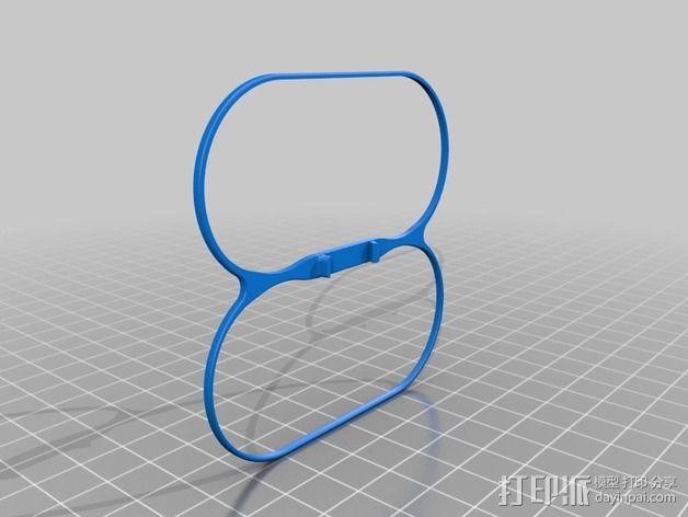 叶片保护器 3D模型  图1