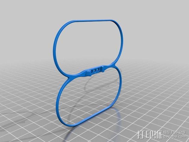 叶片保护器 3D模型  图2