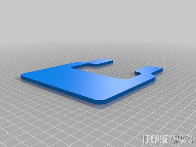 发射器支架 3D模型  图2